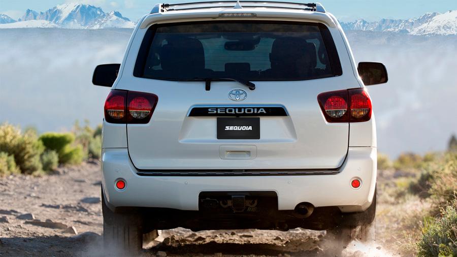 Las defensas Toyota Sequoia Platinum 2020 resena opiniones van al color de la carrocería