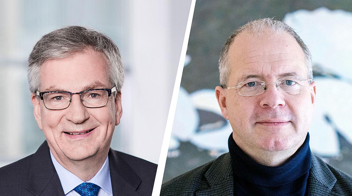 Martin Daum y Martin Lundstedt