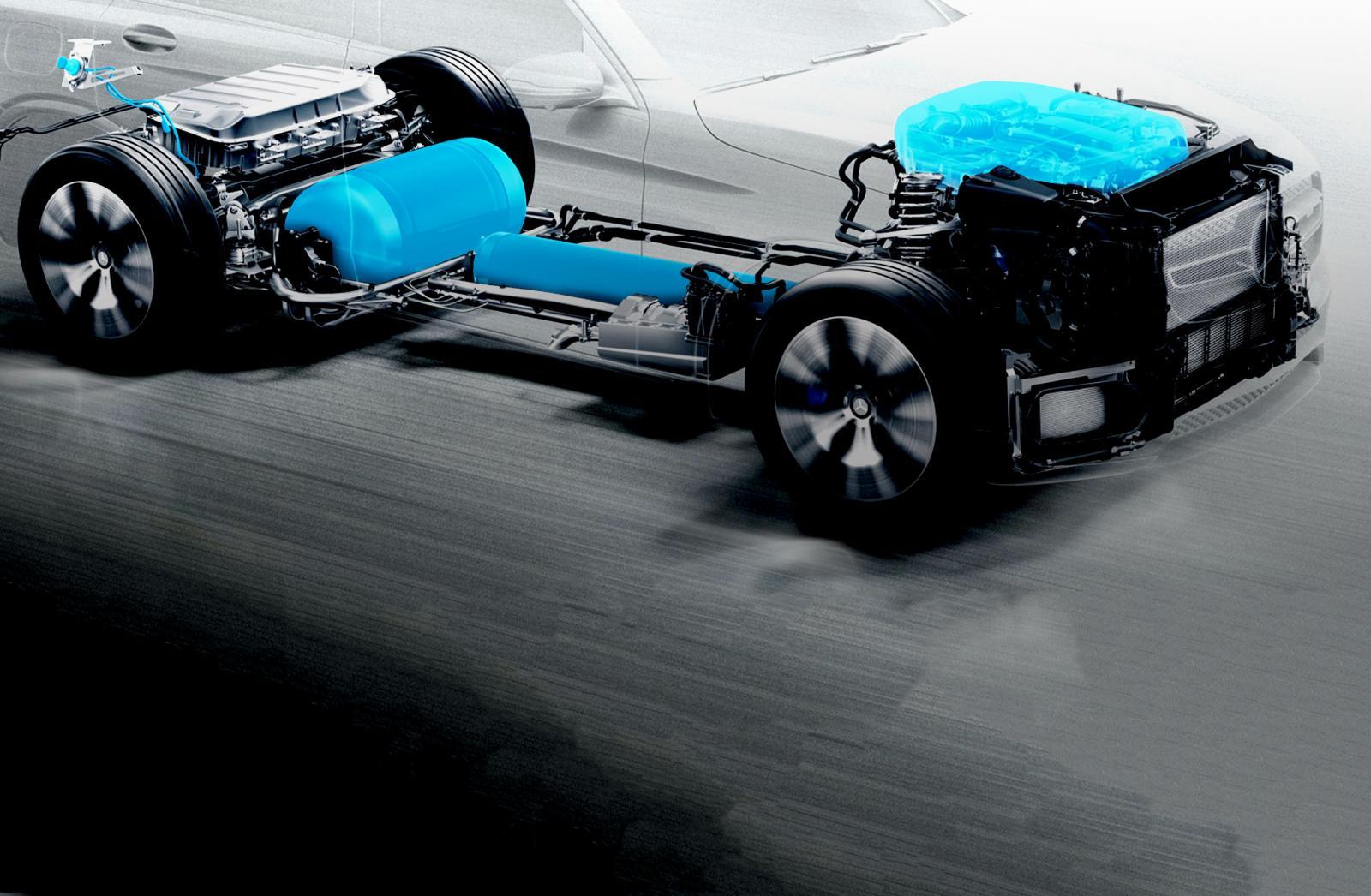Mercedes-Benz celdas de combustible