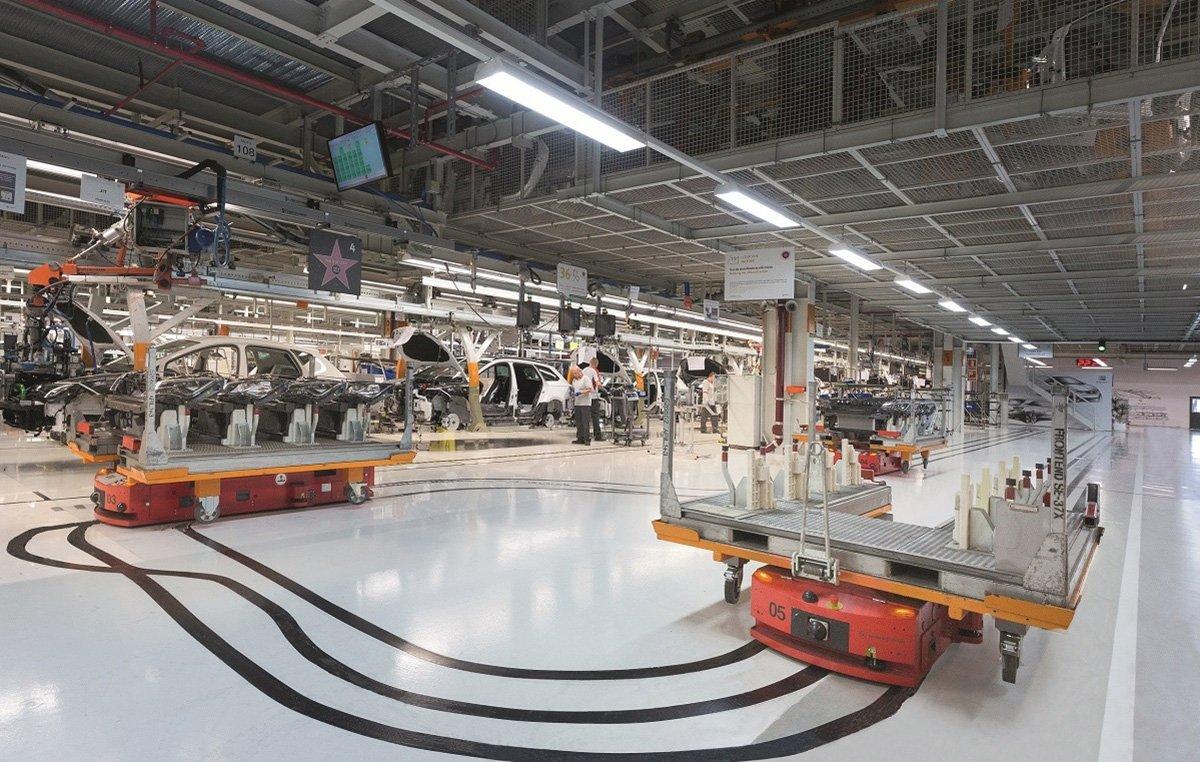 SEAT Martorell planta de producción