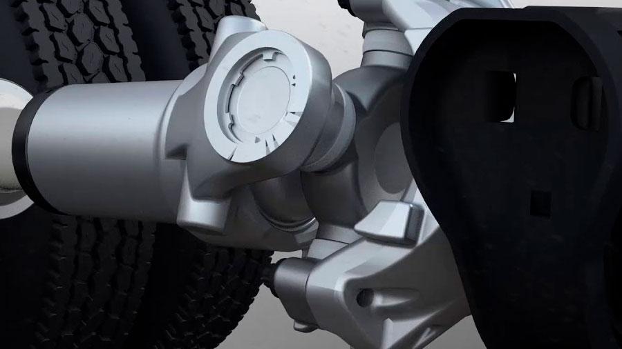 El cardán es un componente clave en la transmisión del vehículo