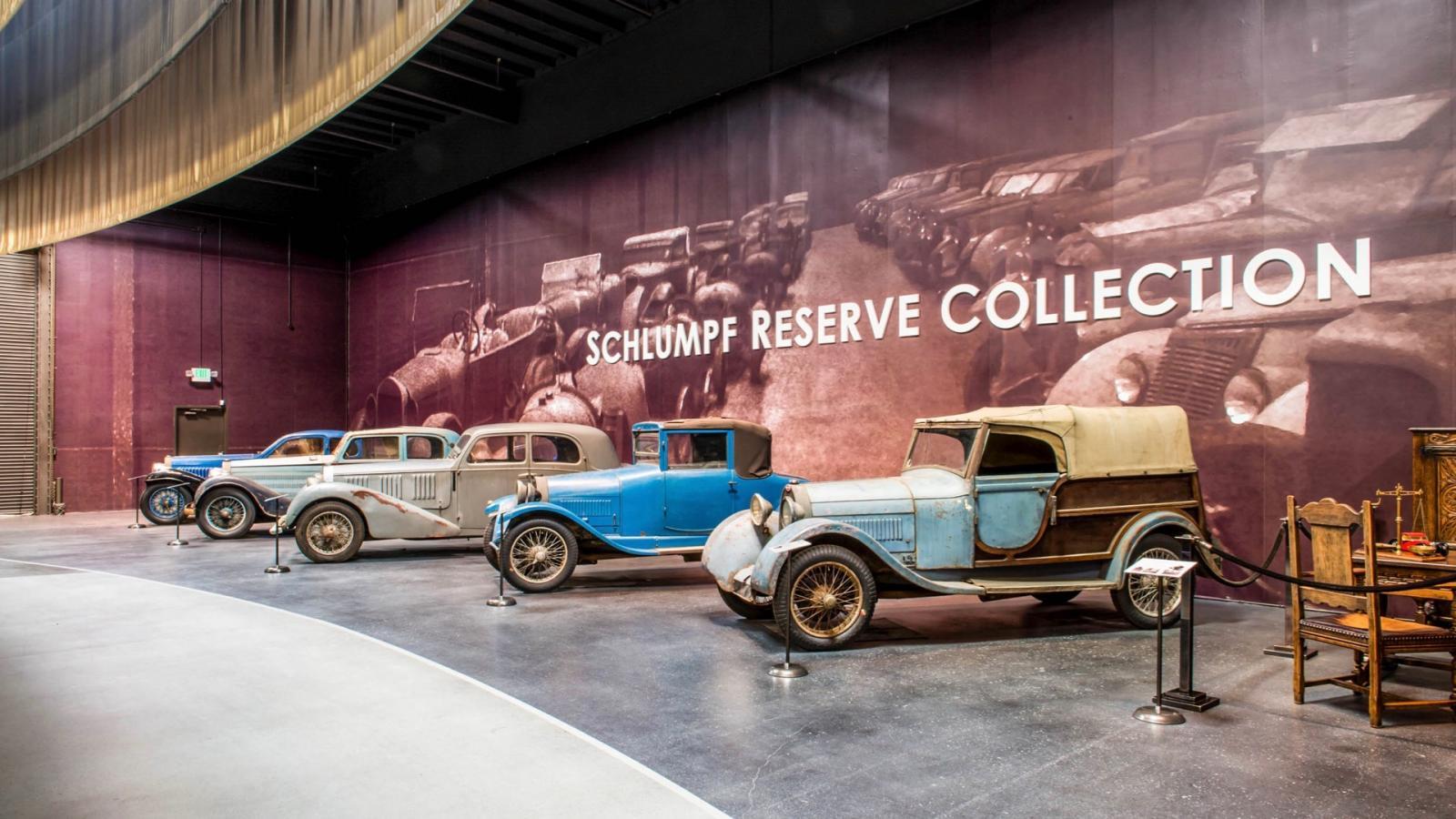 Colección Bugatti Fritz Schlumpf