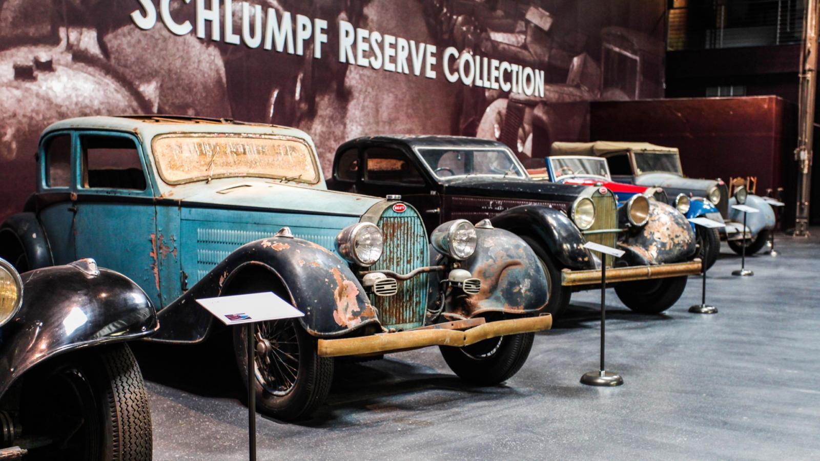 Colección Bugatti de Fritz Schlumpf