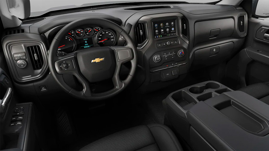 Chevrolet Silverado Doble Cabina 4x4 2020 resena opiniones Ofrece buena integración con dispositivos móviles por su compatibilidad con Apple CarPlay y Android Auto