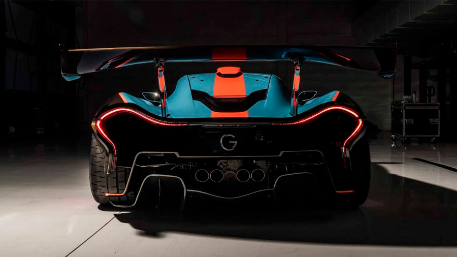 La preparación está basada en el impresionante McLaren P1 GTR