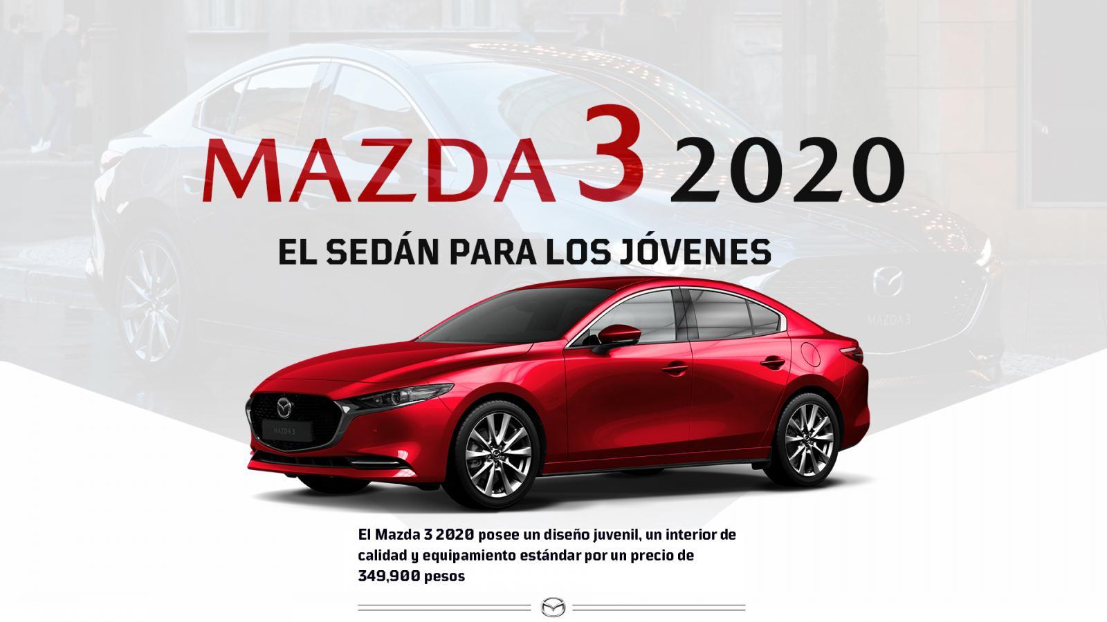 Mazda 3 Sedán 2020 resena opiniones