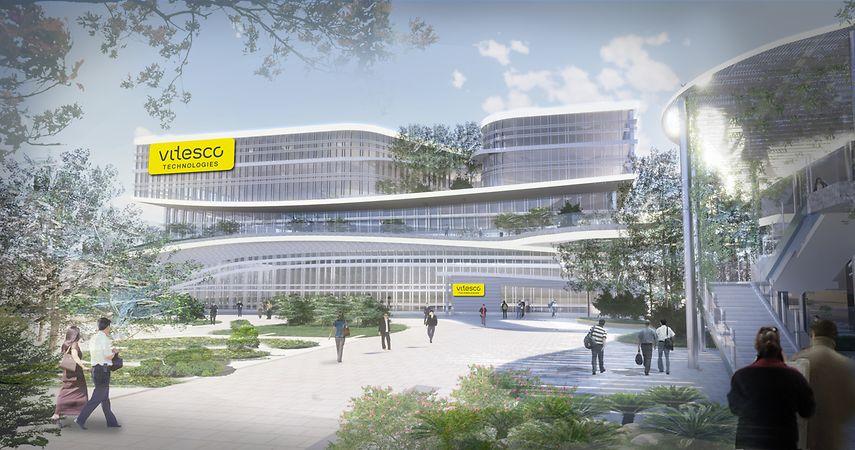 Continental Vitesco centro de desarrollo de motorizaciones eléctricas