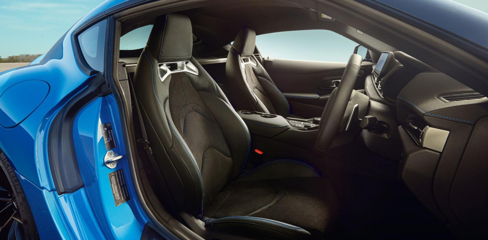 Toyota Supra Horizon Blue 2021