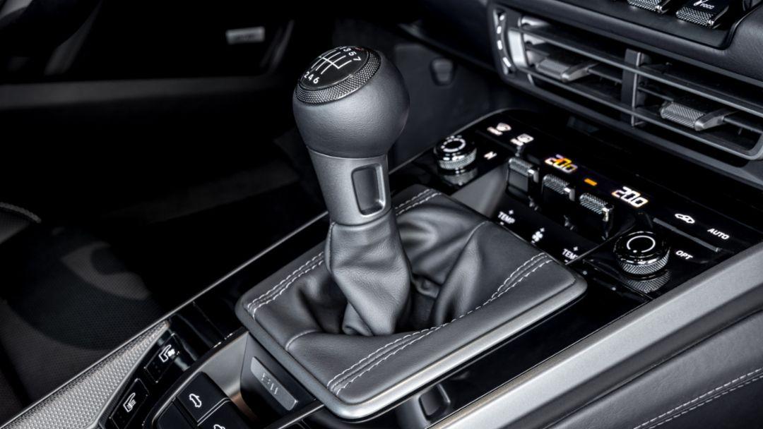 Transmisión manual Porsche de 7 velocidades