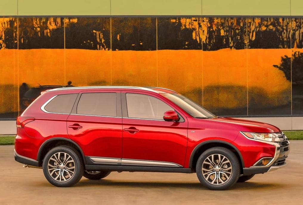 Mitsubishi Outlander color rojo