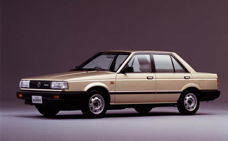 El Nissan Tsuru II llegó a México en 1992