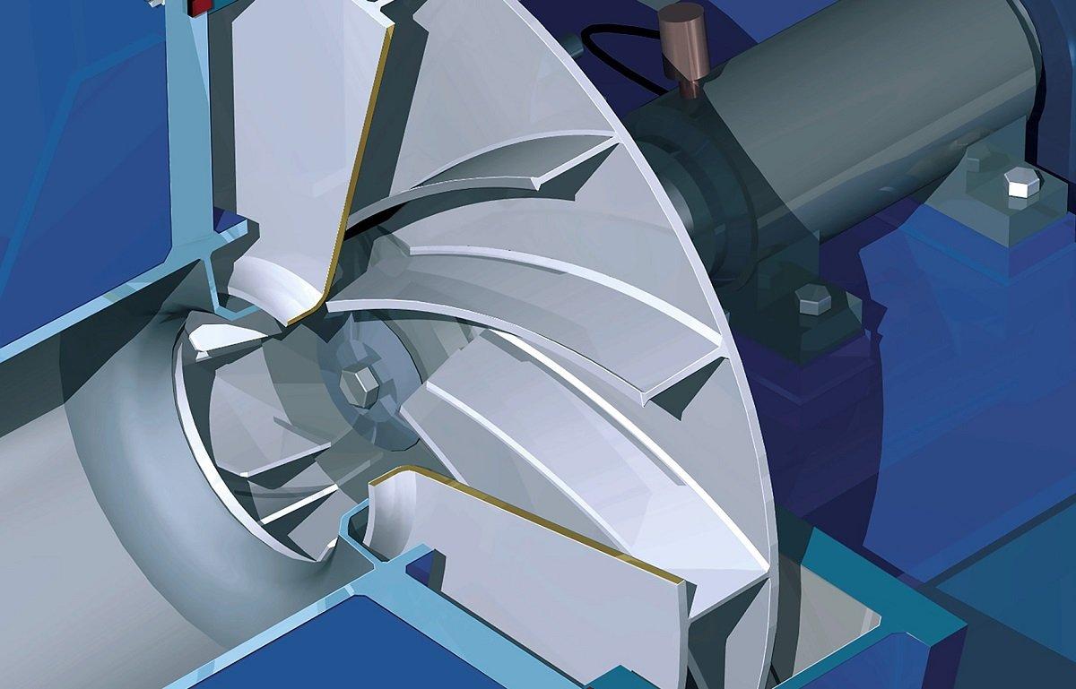 Fallas del turbo turbocompresor interior