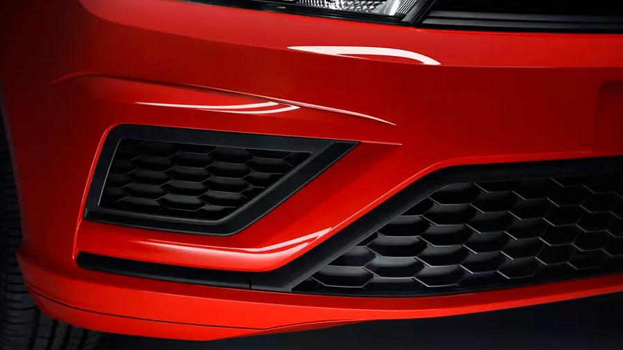 El frontal Volkswagen Gol Trendline 2020 resena opiniones destaca por sus entradas de aire tipo panal