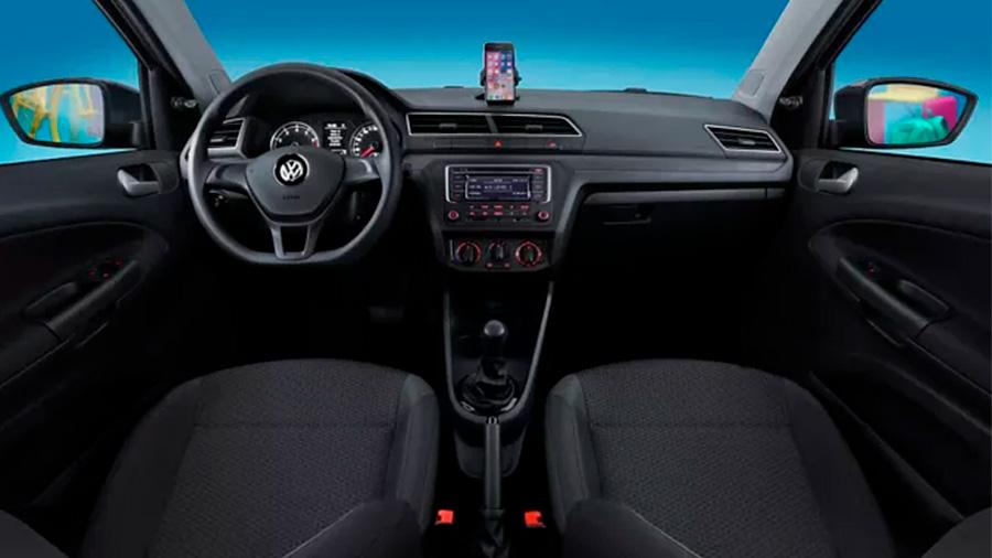 Las vestiduras Volkswagen Gol Trendline 2020 resena opiniones son de tela