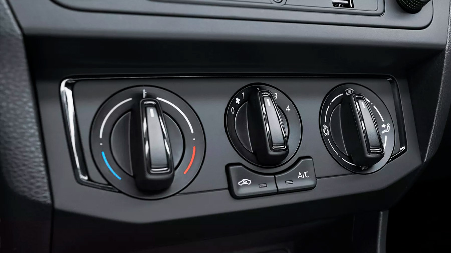 Volkswagen Gol Trendline 2020 resena opiniones Integra aire acondicionado de regulación manual