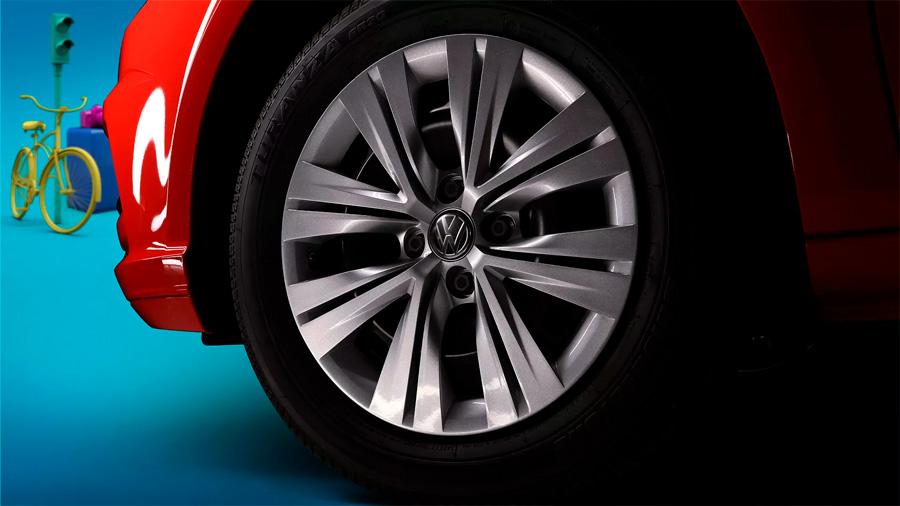 Volkswagen Gol Trendline 2020 resena opiniones Incorpora rines de aluminio de 15 pulgadas