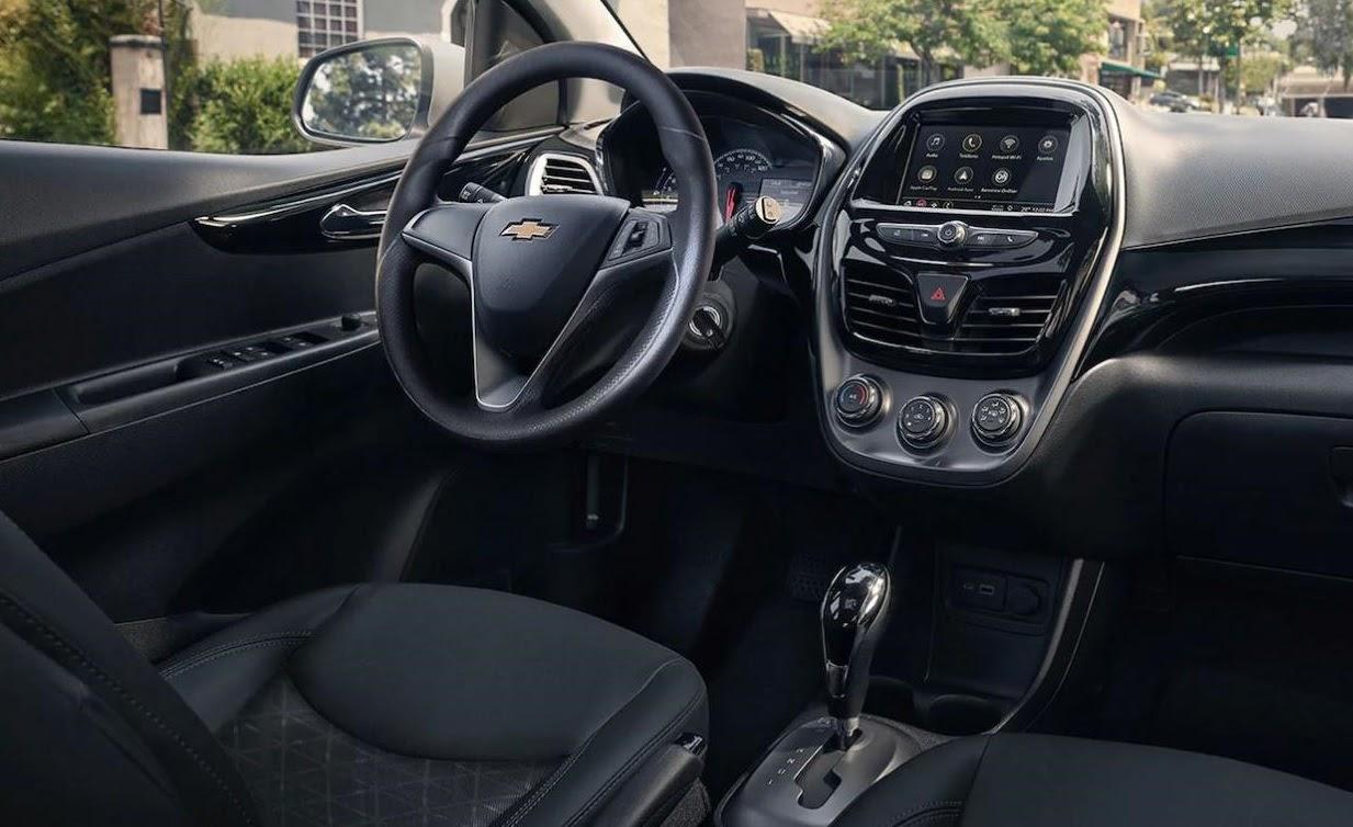 Interior de Chevrolet Spark
