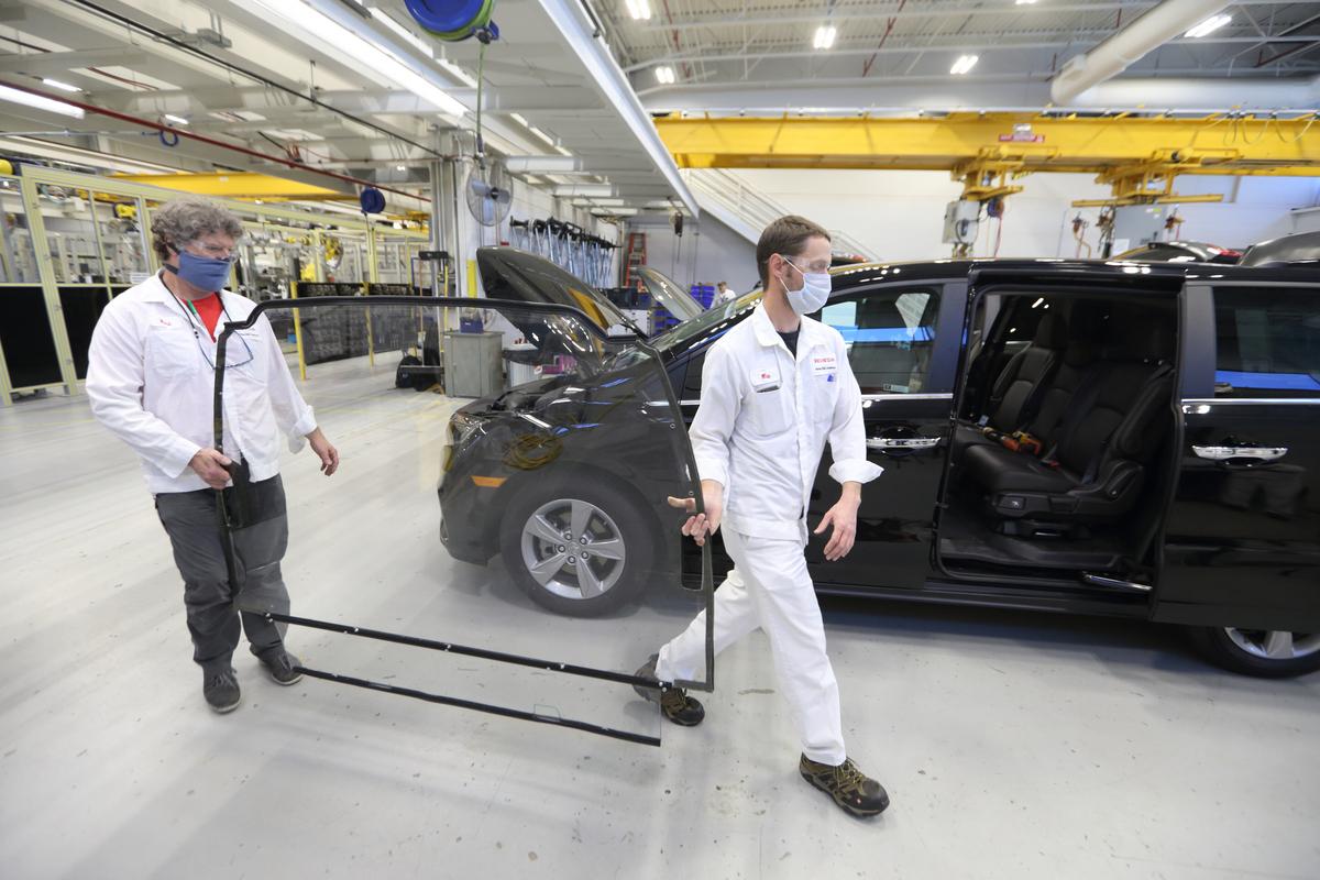 La Honda Odyssey llevará a grupos de personas a realizarse pruebas de Covid-19