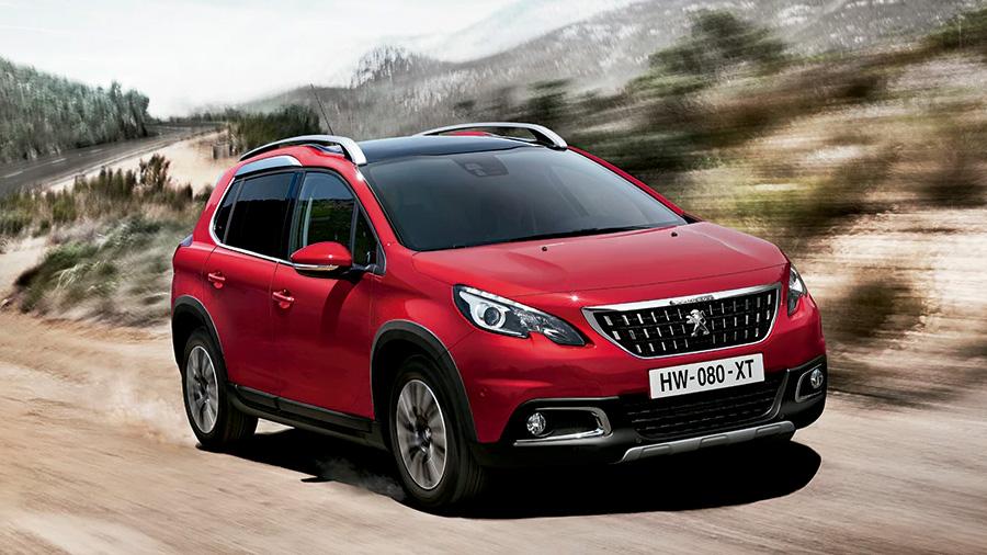 La Peugeot 2008 ofrece un buen nivel de confort