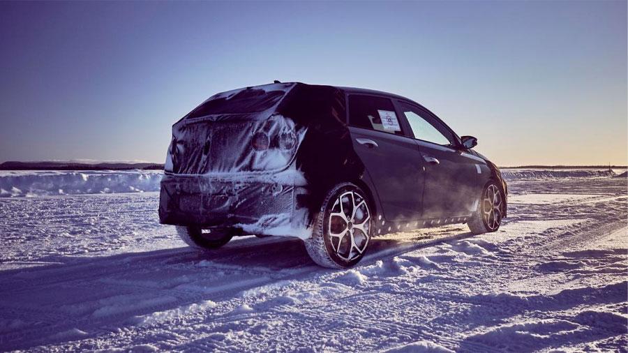 El Hyundai i20 N se enfrentó a un terreno desafiante