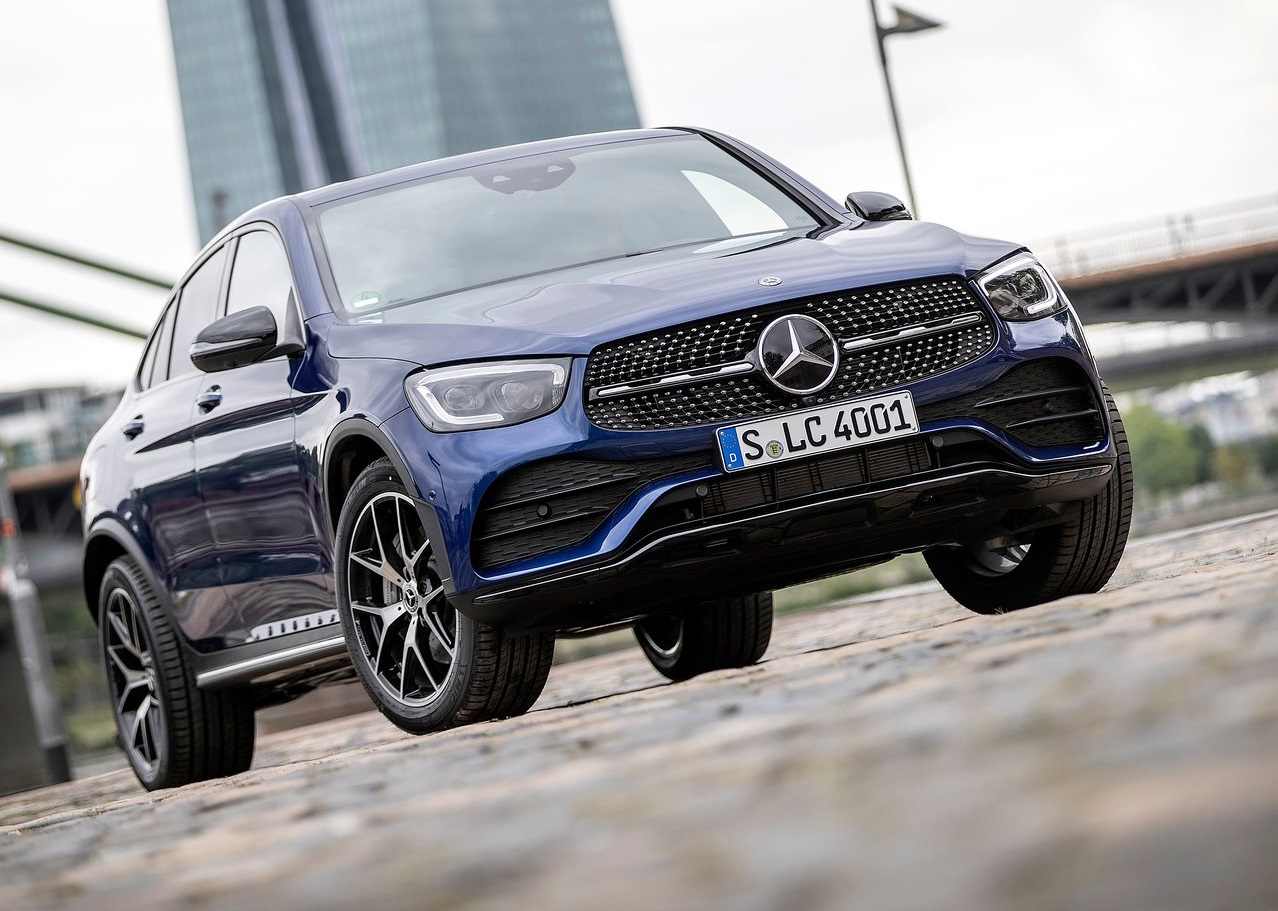 La Mercedes-Benz GLC Coupé 2020