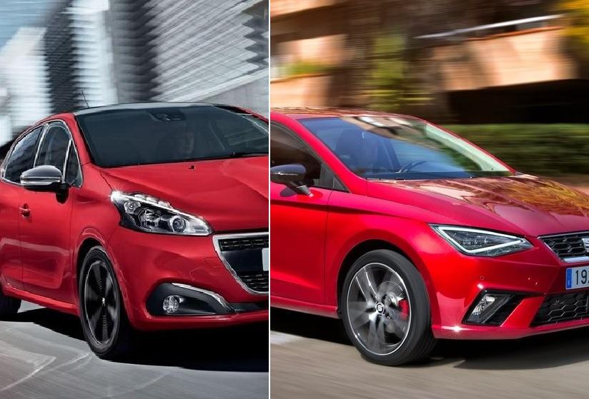 Peugeot 208 Allure Pack 2020 SEAT Ibiza FR 2020 comparativa