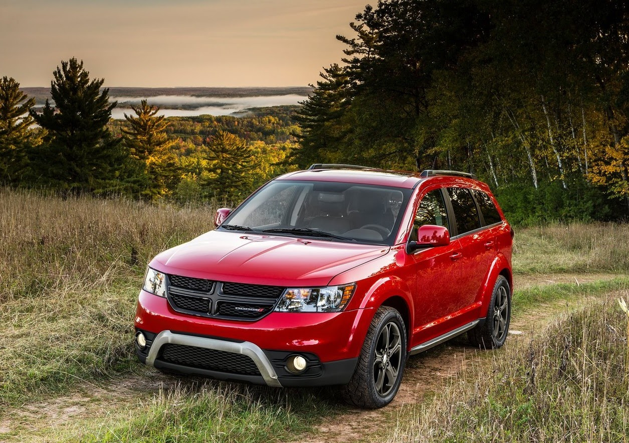 Dodge Journey rojo