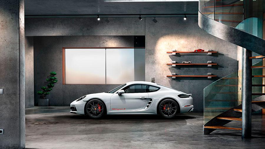 El Porsche 718 es uno de los modelos más económicos de la compañía
