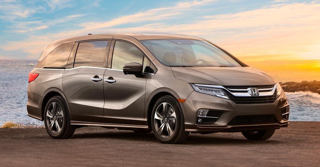 Honda Odyssey camionetas para 7 pasajeros