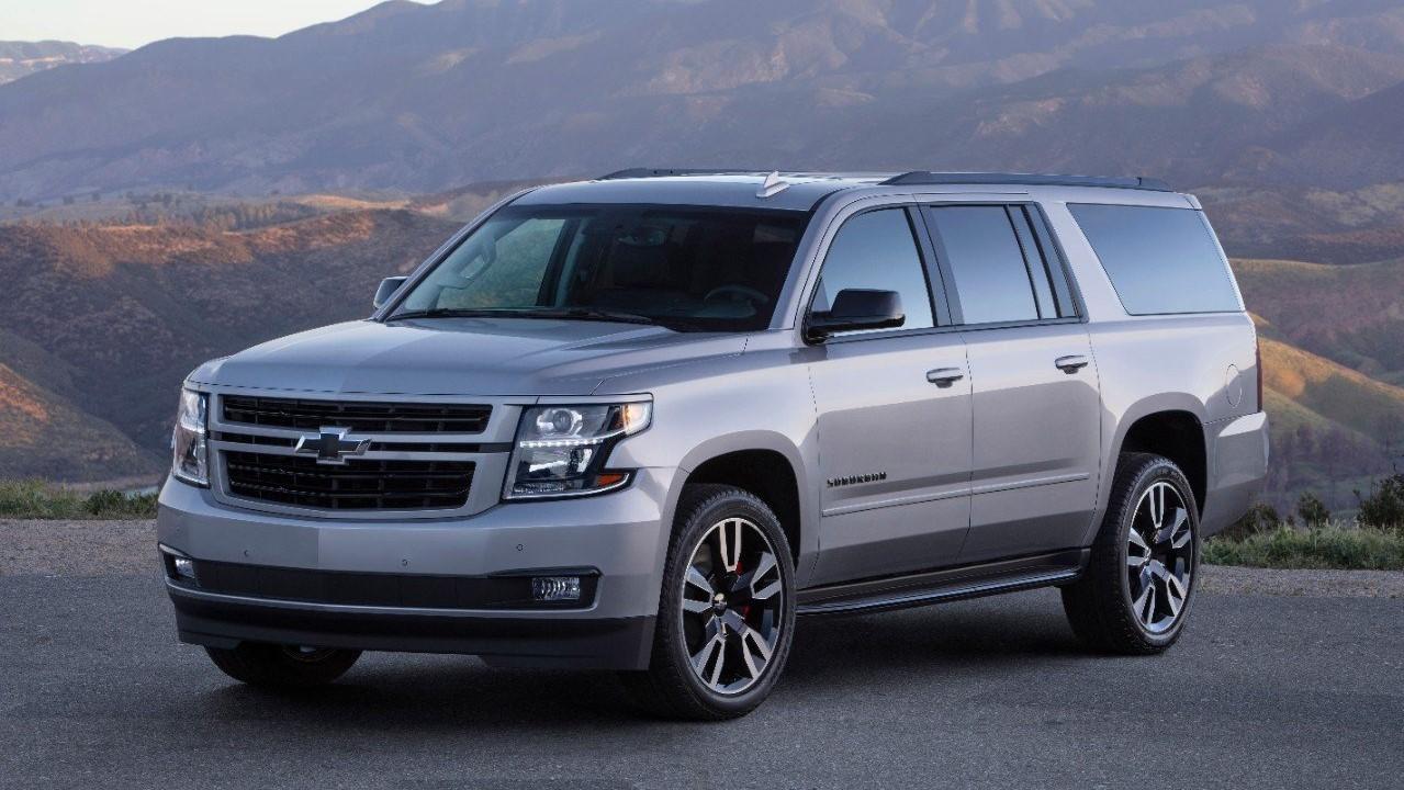 Chevrolet Suburban camionetas para 7 pasajeros