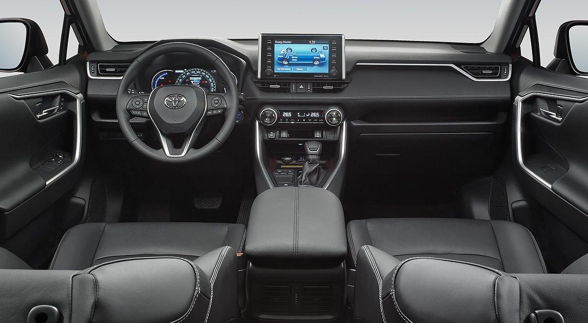 Algunos rivales de la Toyota RAV4 precio mexico ofrecen un mejor sistema de infotenimiento
