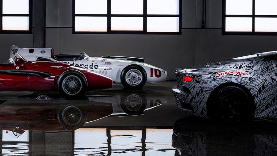 Stirling Moss vivió años muy buenos con Maserati