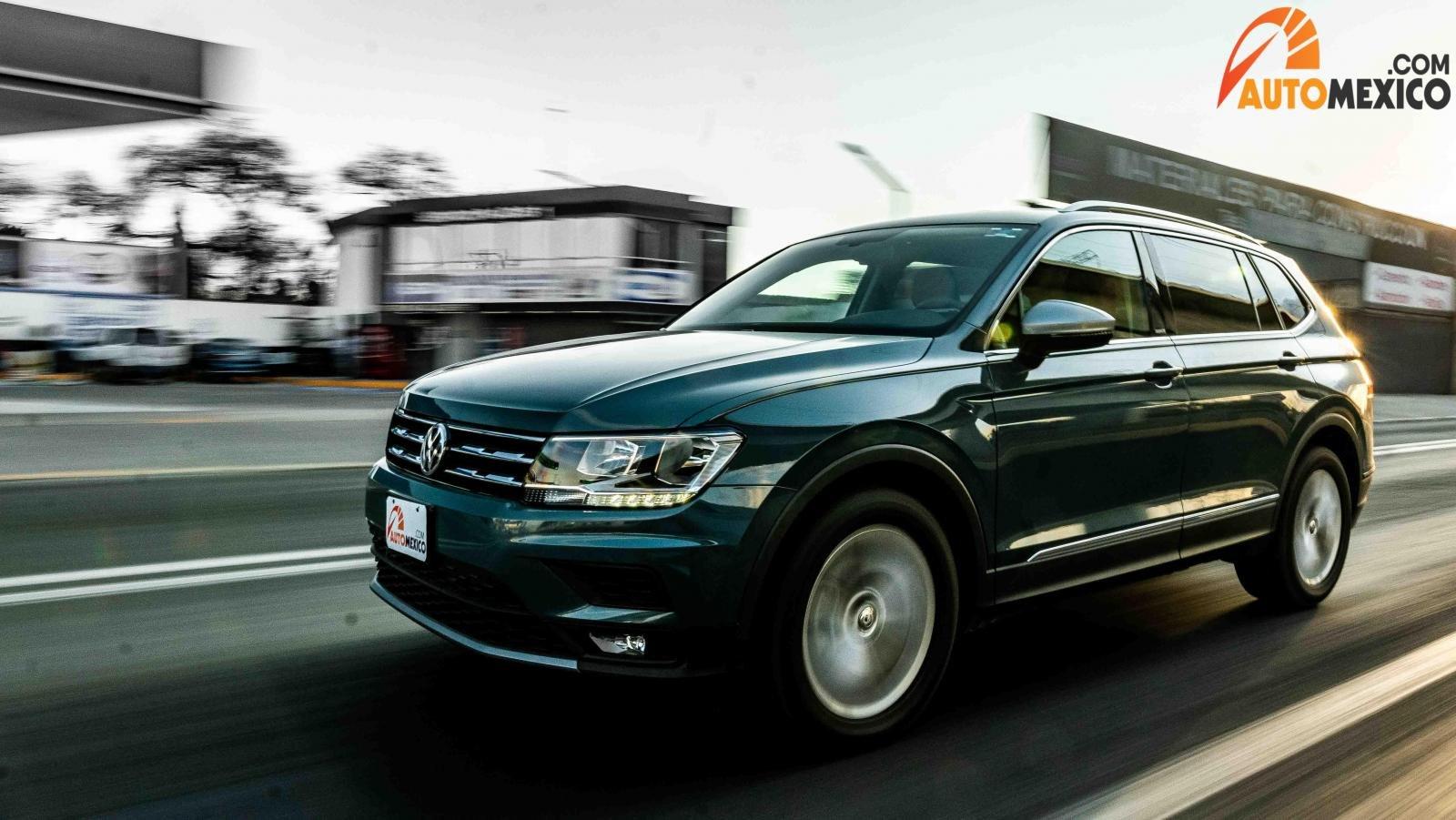 La Volkswagen Tiguan es una de las SUV más populares de México