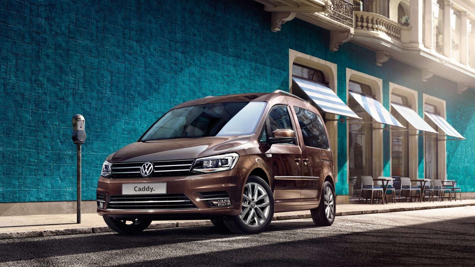 La Volkswagen Caddy está orientada al uso comercial