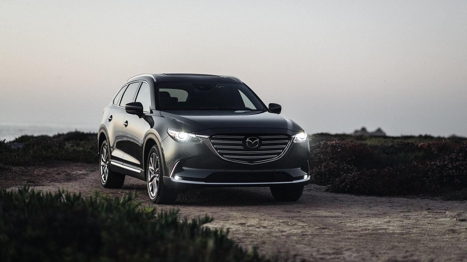 La Mazda CX-9 destaca por su cabina con materiales de primer nivel