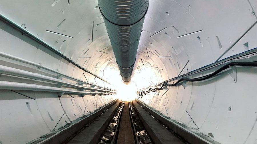 Los túneles empezarían a funcionar en enero de 2021