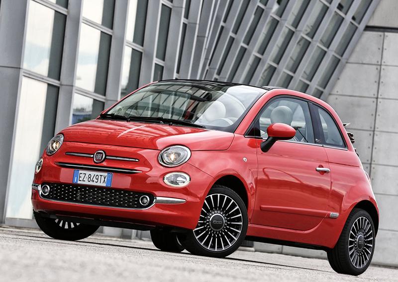 FIAT 500 autos para jovenes
