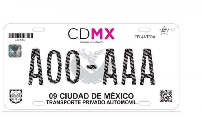 Placas CDMX 1