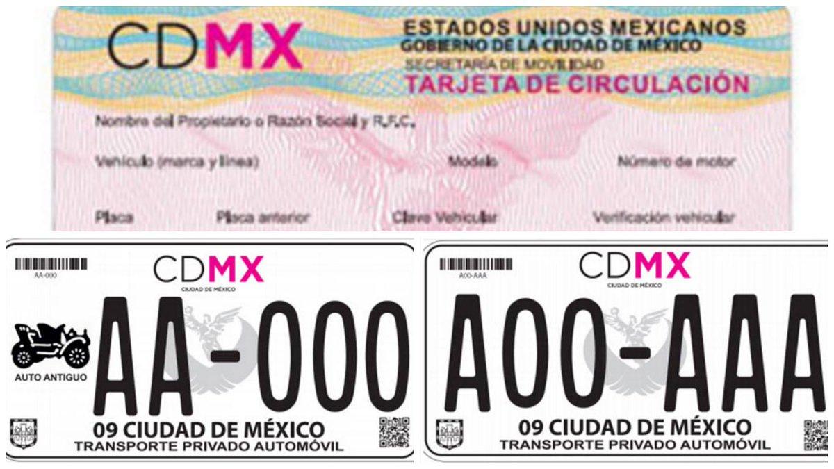 Placas CDMX 2