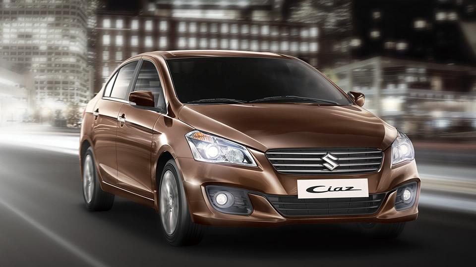 El Suzuki Ciaz es el sedán de la gama