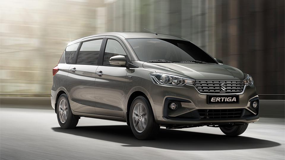 La Suzuki Ertiga tiene buena distribución del espacio interior