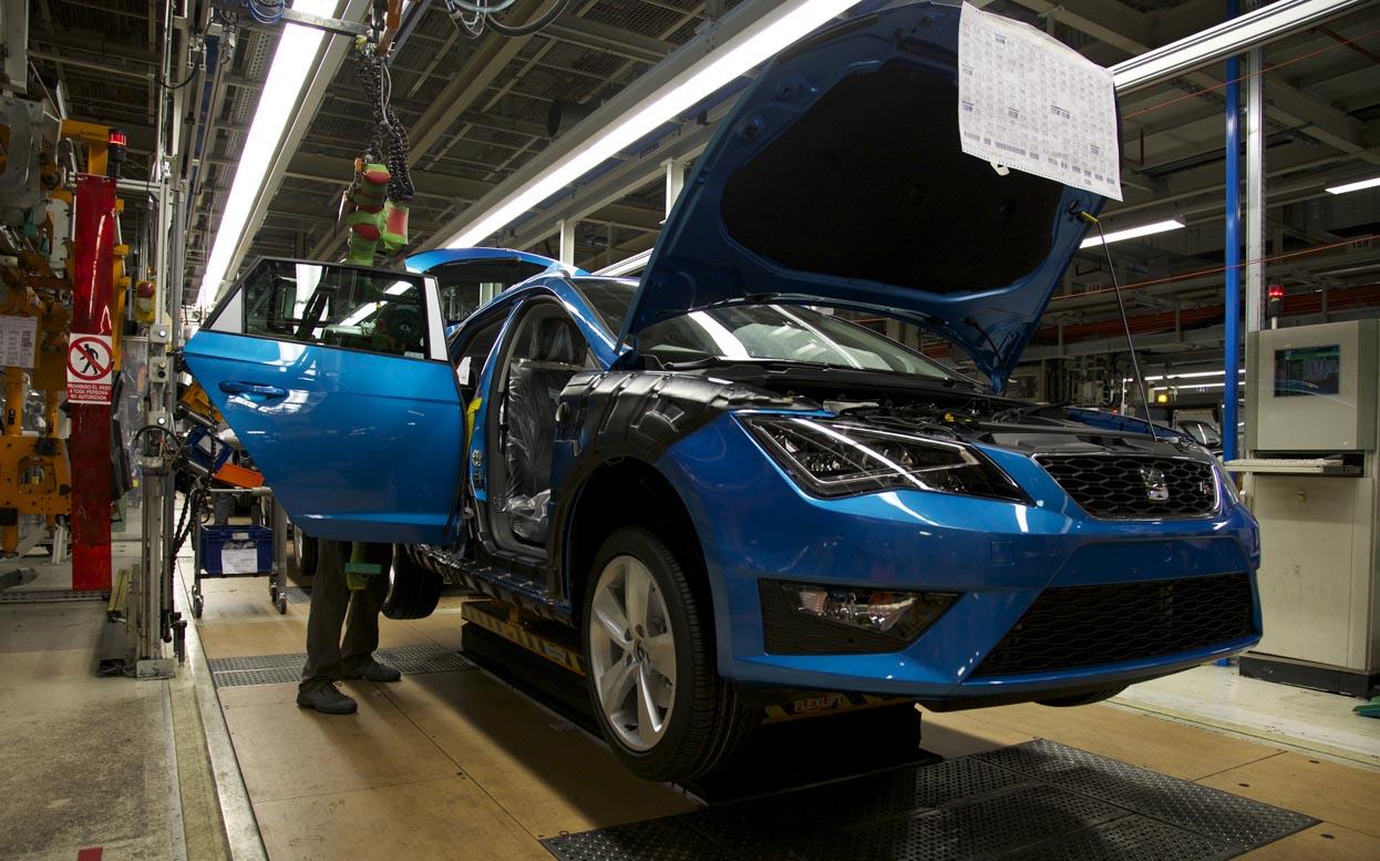 La industria automotriz europea vuelve a la actividad
