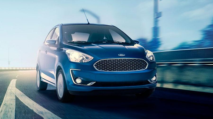 El Ford Figo es uno de los sedanes económicos más populares de México