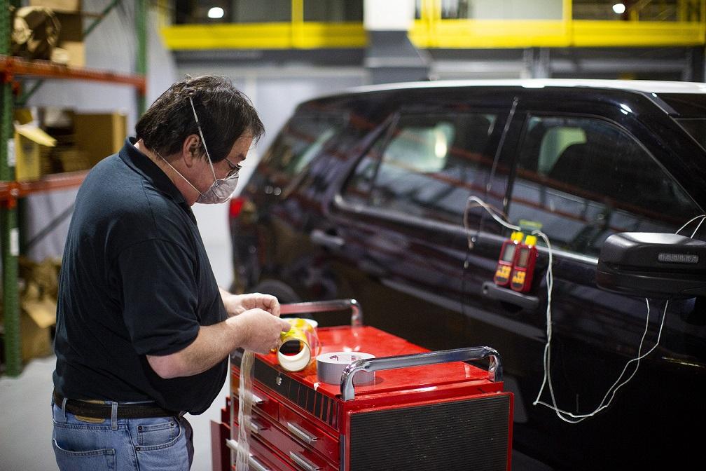 Ford incluye tecnología para combatir al coronavirus en algunas patrullas