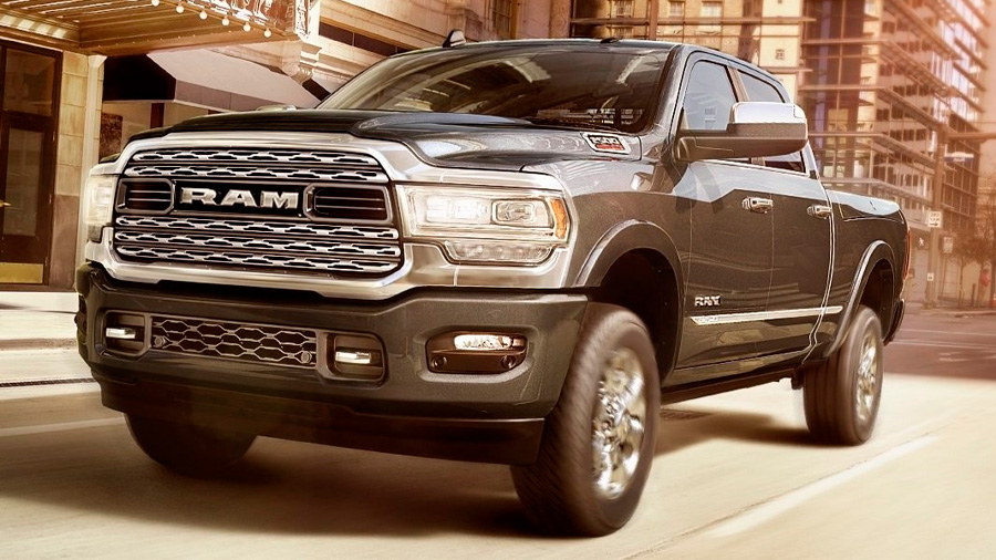 La Ram 2500 es una pick-up lujosa y capaz