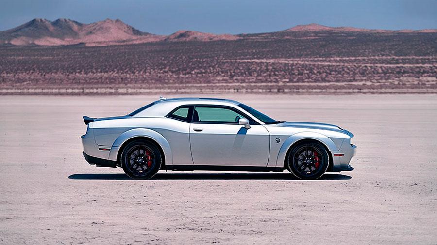 El Dodge Challenger es un coche con carácter, agresivo y bien equipado