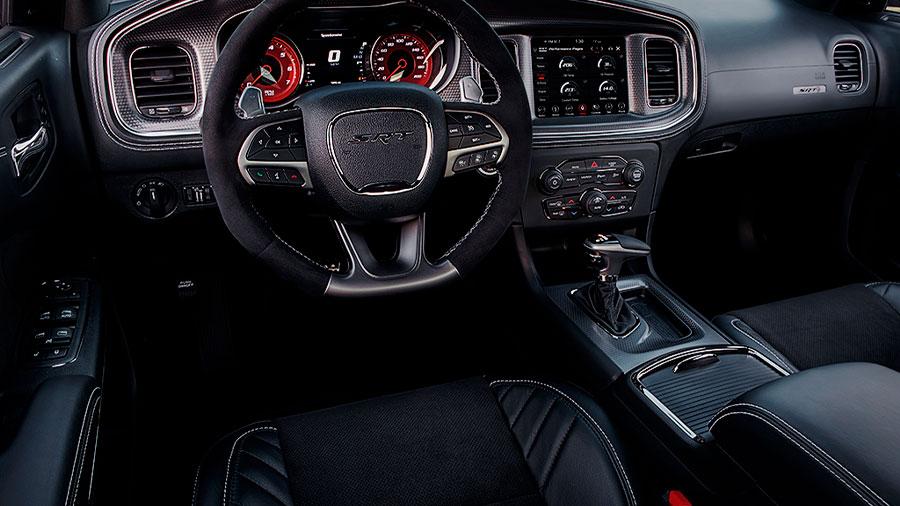El volante integra tecnología calefactable