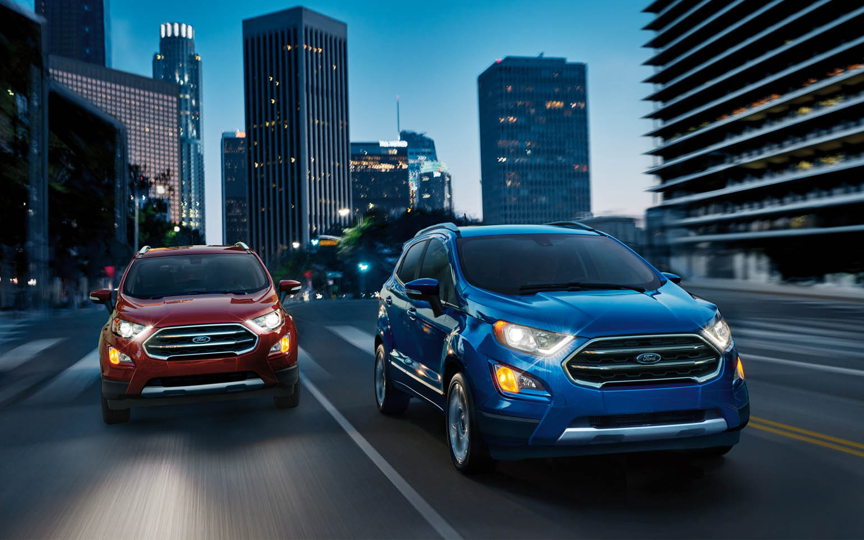 La Ford EcoSport precio mexico está disponible en tres versiones