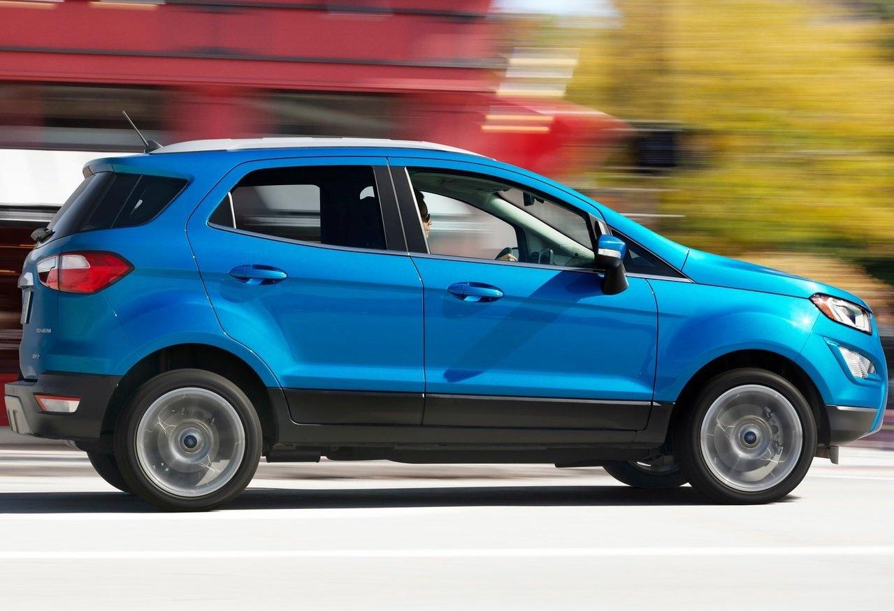 La Ford EcoSport precio mexico puede tener asientos de tela o piel