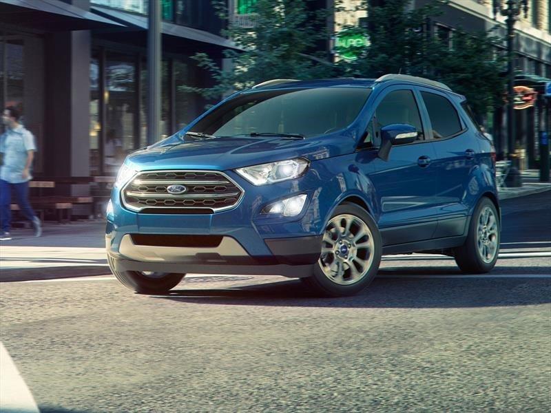 La Ford EcoSport precio mexico tiene pantalla táctil de serie